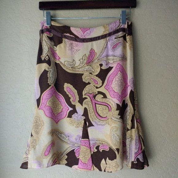 Liz Claiborne Dresses & Skirts - Liz Claiborne Petite Paisley Skirt, 4P